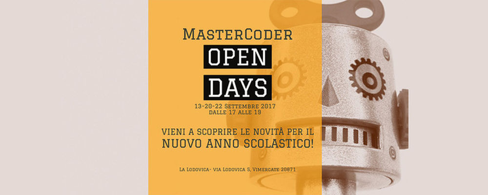 Mastercoder Open Days